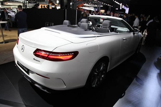 2018 Mercedes-Benz E-Class Cabriolet and New AMG GLC: New York Auto Show featured image large thumb3