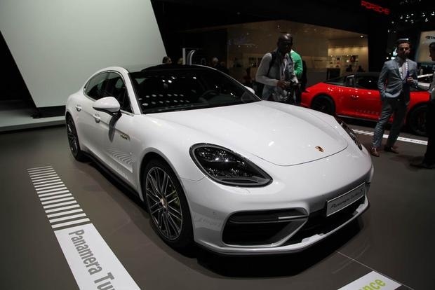2018 Porsche Panamera Sport Turismo, Turbo S E-Hybrid; 911 GT3, GTS: New York Auto Show featured image large thumb0