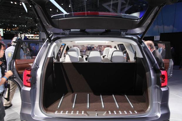 Subaru Ascent Concept New York Auto Show Autotrader