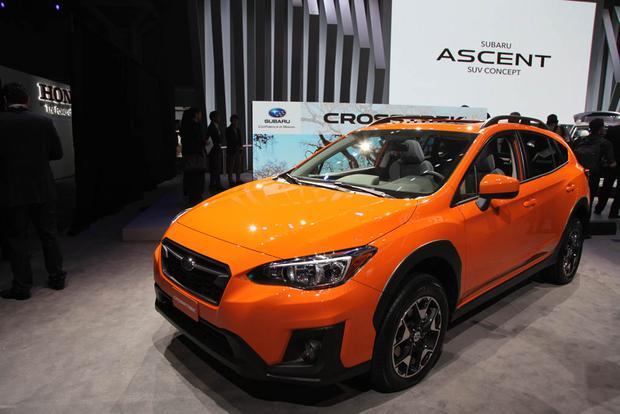 2018 Subaru Crosstrek: New York Auto Show