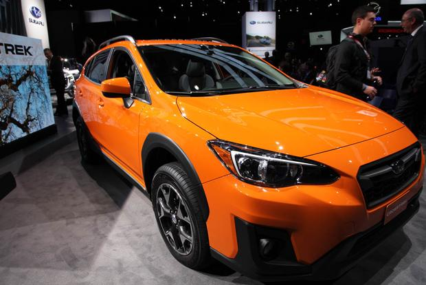 2018 subaru crosstrek new york auto show autotrader. Black Bedroom Furniture Sets. Home Design Ideas