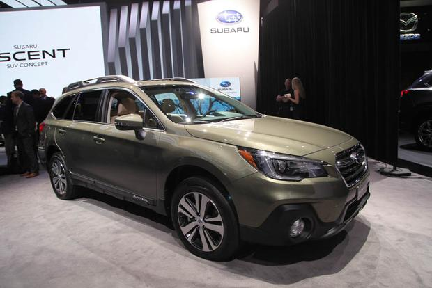 2018 Subaru Outback: New York Auto Show featured image large thumb1