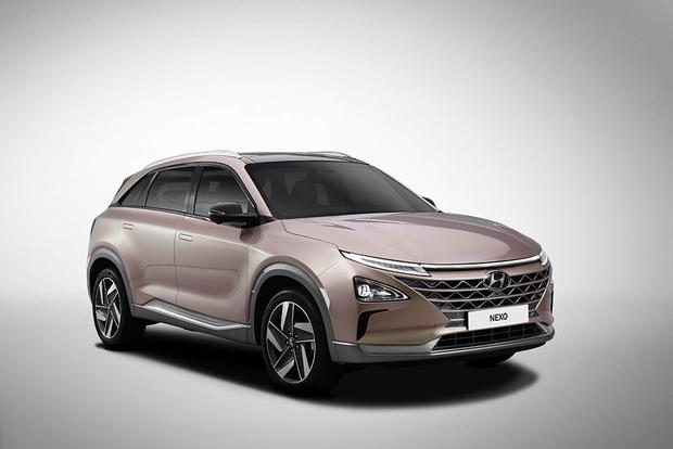 Hyundai Nexo Fuel Cell Vehicle: Consumer Electronics Show