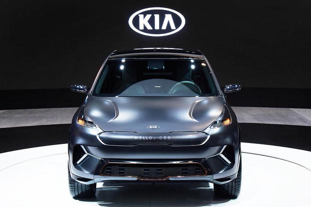 Kia Niro EV Concept: Consumer Electronics Show
