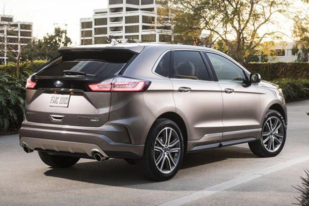 Ford Edge Titanium Elite Chicago Auto Show