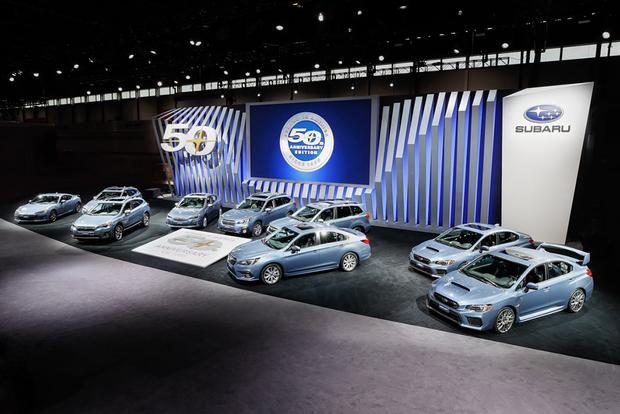 Subaru 50th Anniversary Edition: Chicago Auto Show featured image large thumb0