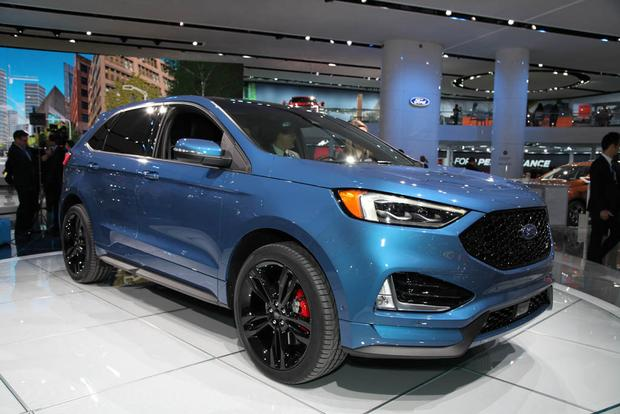 2019 Ford Edge: Detroit Auto Show