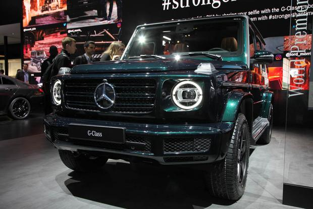 2019 Mercedes-Benz G-Class: Detroit Auto Show featured image large thumb0