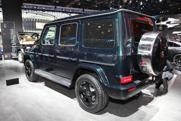 2019 Mercedes-Benz G-Class: Detroit Auto Show featured image large thumb1