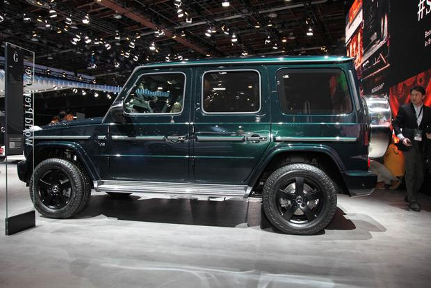 2019 Mercedes-Benz G-Class: Detroit Auto Show featured image large thumb2