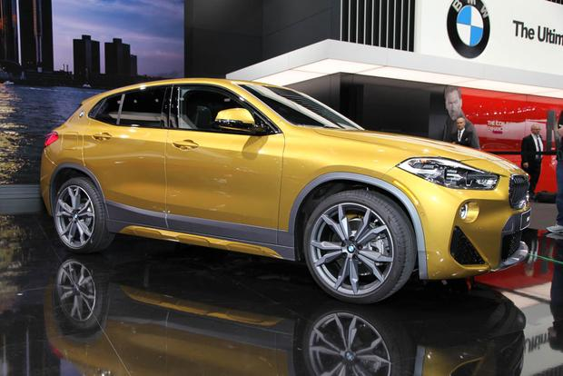 2018 BMW X2 and 2019 BMW i8 Coupe: Detroit Auto Show