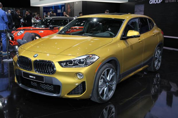 2018 Bmw X2 And 2019 Bmw I8 Coupe Detroit Auto Show Autotrader