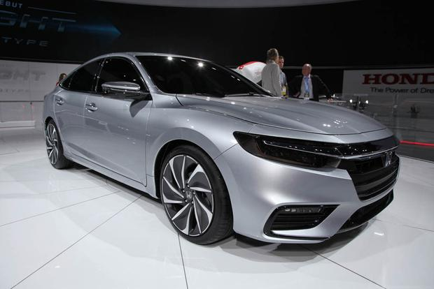 2019 Honda Insight: Detroit Auto Show