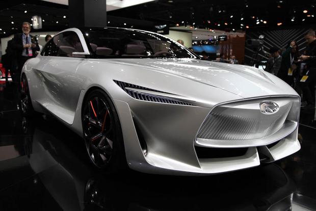 Infiniti Q Inspiration Concept: Detroit Auto Show