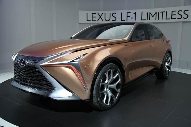 lexus lf 1 limitless concept detroit auto show autotrader. Black Bedroom Furniture Sets. Home Design Ideas