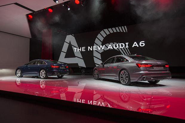 2019 Audi A6, e-tron Prototype Crossover: Geneva Auto Show featured image large thumb2