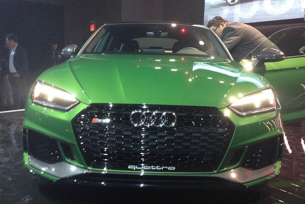 2019 Audi RS 5 Sportback: New York Auto Show featured image large thumb1