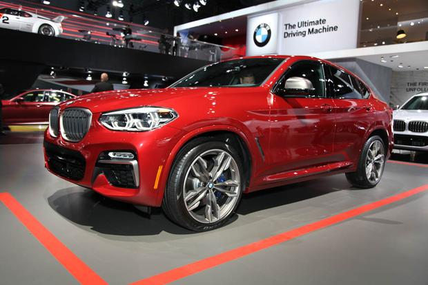 2019 BMW X4 M40i M Performance New York Auto Show Featured Image Large Thumb0