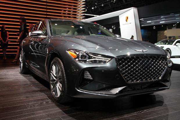 New York Auto Show 2019 Dates 2019 Genesis G70: New York Auto Show   Autotrader