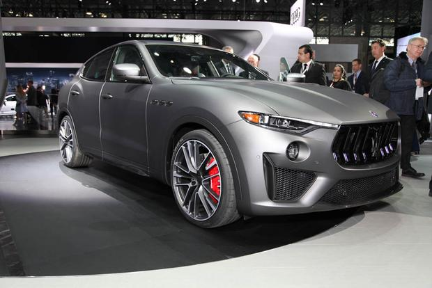 2019 Maserati Levante Trofeo: New York Auto Show featured image large thumb0