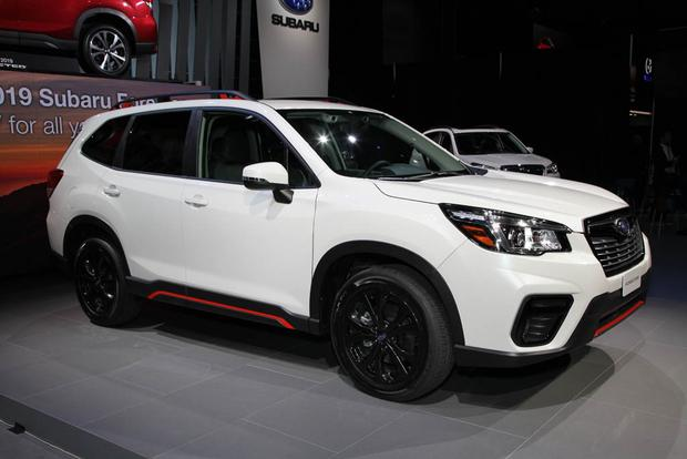 2019 Subaru Forester: New York Auto Show featured image large thumb1