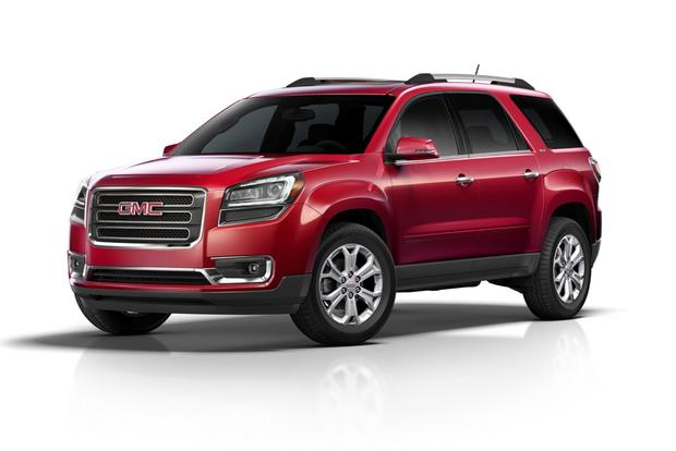 Traverse Vs Acadia >> 2013 Crossover SUVs: New and Updated - Autotrader