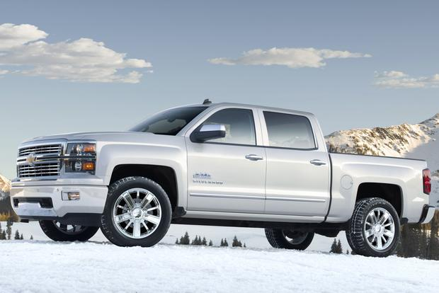 Chevy High Country White >> Top Luxury Truck Choices - Autotrader