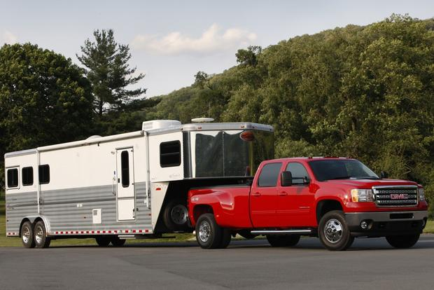 Top Pickups for Towing