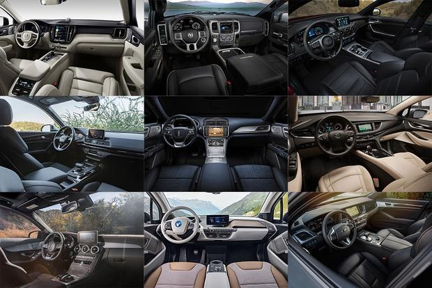 10 Best Car Interiors Under $50,000 for 2018