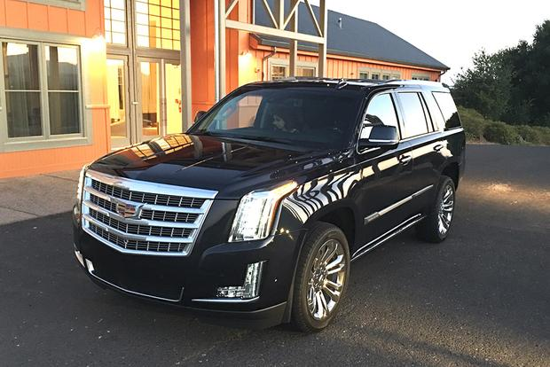 2017 Cadillac Escalade: Luxury Trappings featured image large thumb0