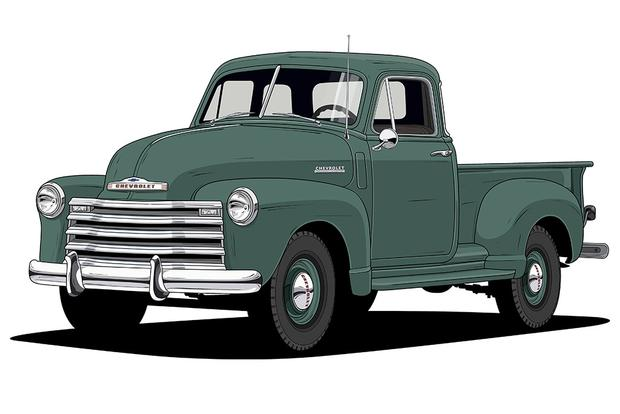 Chevy Trucks: 100 Years of Design Milestones featured image large thumb1