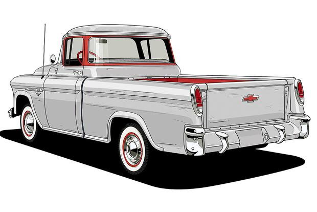 Chevy Trucks: 100 Years of Design Milestones featured image large thumb2