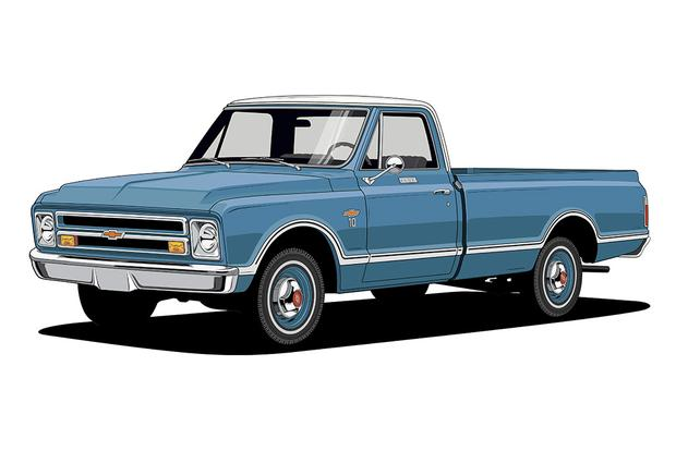 Chevy trucks 100 years of design milestones autotrader for Truck design app