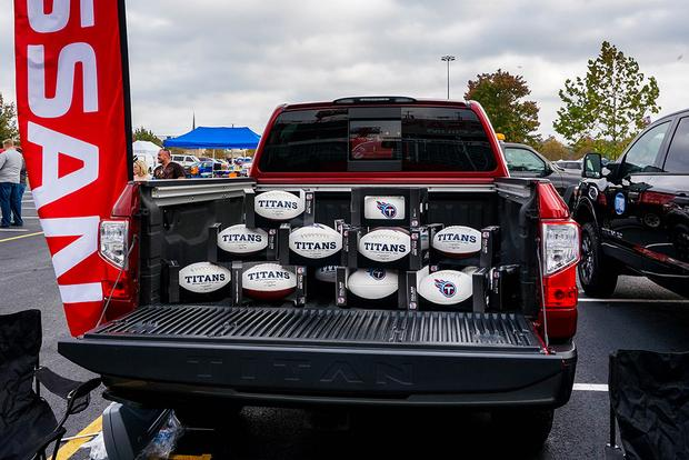 Nissan Titan: Testing Its Tailgating Chops featured image large thumb2