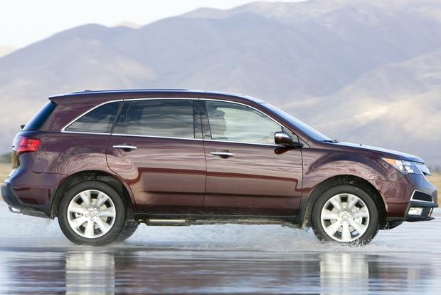 2014 acura mdx vs 2014 infiniti qx60 vs 2013 lexus rx comparison test