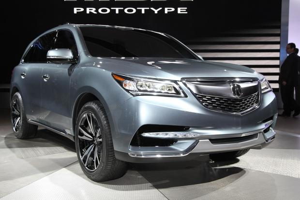 2013 Acura MDX Prototype: Detroit Auto Show featured image large thumb0