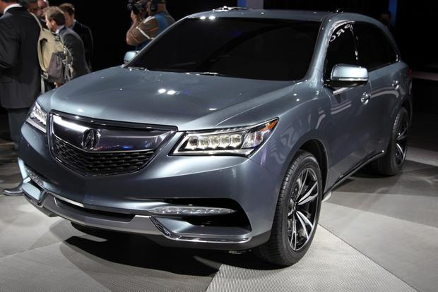 2013 Acura MDX Prototype: Detroit Auto Show featured image large thumb1