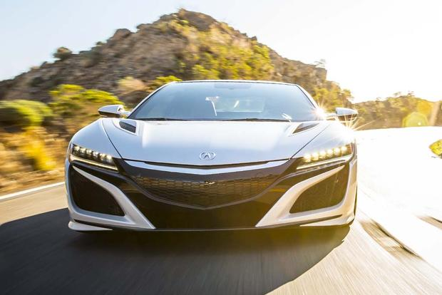 2017 Acura NSX: Overview