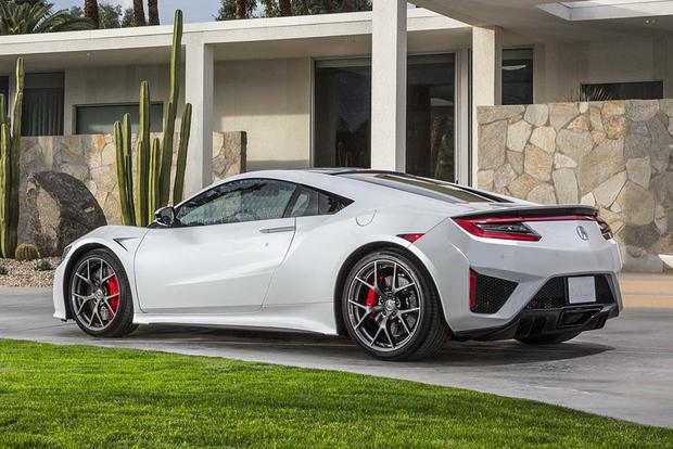 2017 Acura Nsx Overview Autotrader