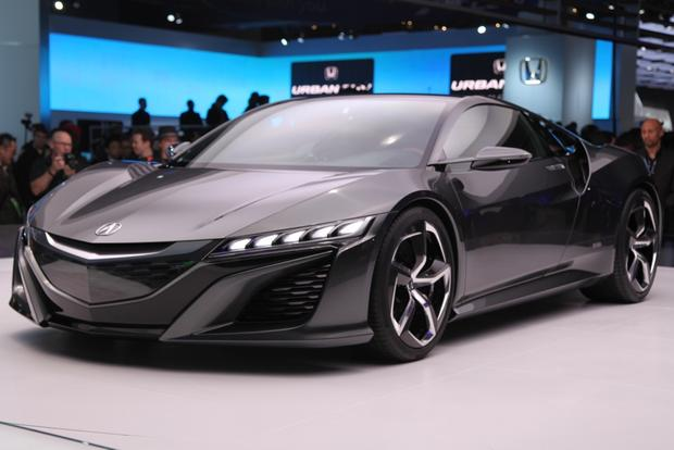 Acura NSX Concept Version 2: Detroit Auto Show featured image large thumb0