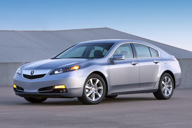 2013 acura tl new car review autotrader. Black Bedroom Furniture Sets. Home Design Ideas