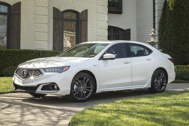 2018 Acura TLX: New Car Review featured image large thumb0