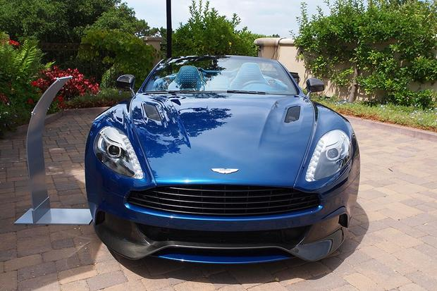 Aston Martin Vanquish Volante Debuts at Pebble Alongside Concept Cars featured image large thumb1