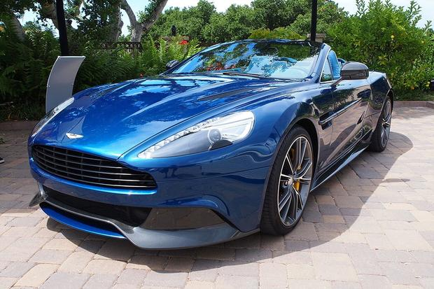 Aston Martin Vanquish Volante Debuts At Pebble Alongside