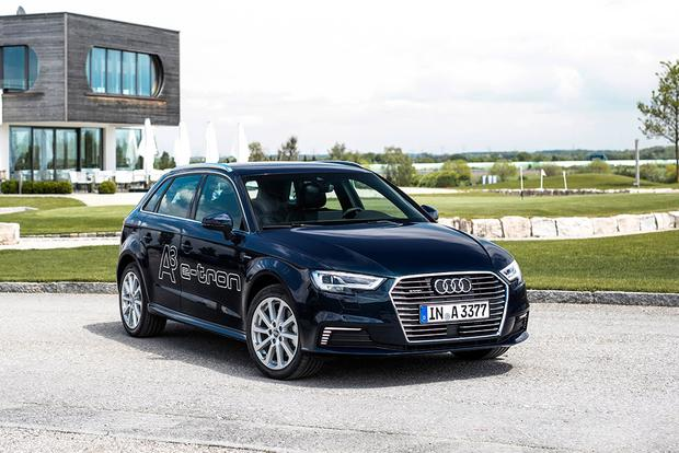 Audi A Sportback Etron New Car Review Autotrader - 2018 audi a3 msrp