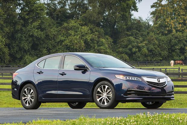 Audi A Vs Acura TLX Which Is Better Autotrader - Acura 2018 tlx price