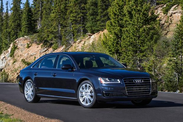 2016 Audi A8: New Car Review featured image large thumb0