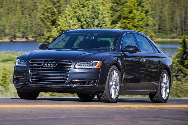 2018 Audi A8: New Car Review featured image large thumb1