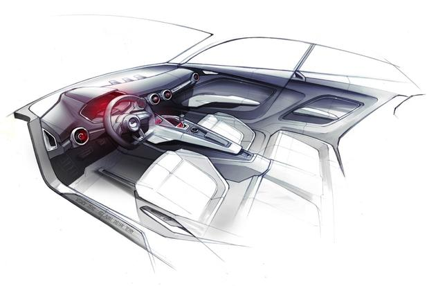 Audi Crossover Concept Teased Ahead of Detroit Show featured image large thumb1