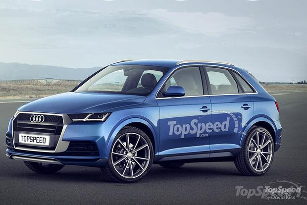Rendering Released Audi Q1 Is Coming Soon Autotrader